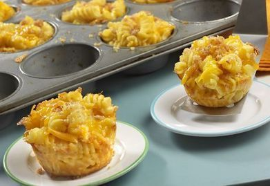 Campbell's Mini Macaroni & Cheese Cups Recipe | Food & Recipes | Scoop.it
