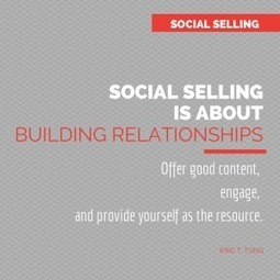 12 Tips To Smart Social Selling | Social Selling:  with a focus on building business relationships online | Scoop.it