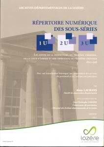 #ChallengeAZ : U comme série U - un répertoire exceptionnel aux archives de la Lozère - Blog Criminocorpus | Nos Racines | Scoop.it