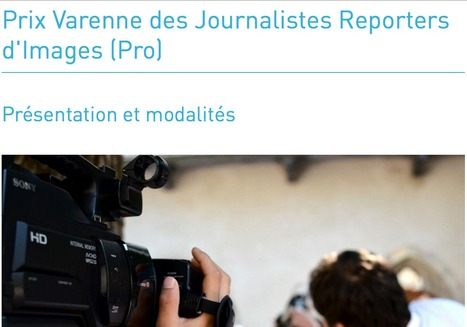 Fondation Varenne - prix JRI | formation JRI - Journaliste reporter images | Scoop.it