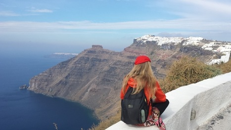 Hiking from Fira to Oia in Santorini - A Scenic Walk | Travel To Santorini | Scoop.it