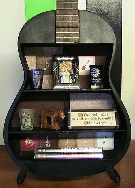 25 Absurd Ways To Put Old Stuff To Creative Use As New Treasures | Home & Office Organization | Scoop.it