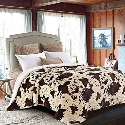 Cow Print Bedding - XpressionPortal | Create Rockin' Rooms | Scoop.it