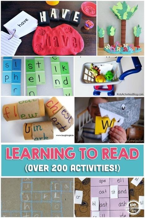 200+ Learning To Read Activities - Kids Activities Blog   Earlier Children education   Scoop.it