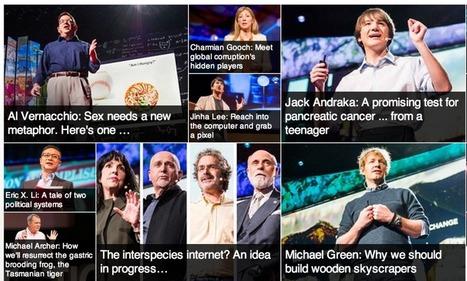 Cibo per il pensiero? Prova con TED (Ideas worth spreading)   e-nable social organization   Scoop.it