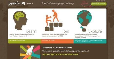3 réseaux sociaux pour apprendre une langue étrangère | Le Top des Applications Web et Logiciels Gratuits | Scoop.it