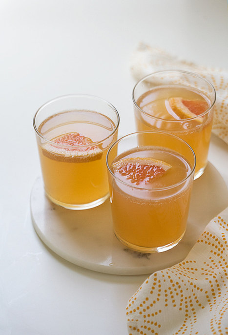 Grapefruit Shandy | Vegetarian Food and Recipes | Scoop.it
