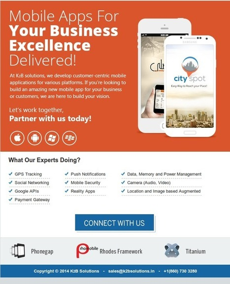 Mobile Apps for Your Business Excellence Delivered! | Mobile Application Development | Scoop.it