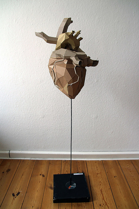 Unbelievable Cardboard Sculptures by Bartek Elsner   Graphic Design   Scoop.it