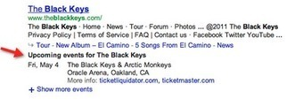 See upcoming concerts in search results - Inside Search | Pittsburgh SEO | Scoop.it