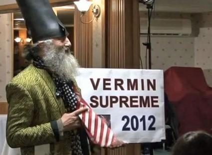 Présidentielles américaines : Vermin Supreme, le candidat sorti d'un conte de fées   Mais n'importe quoi !   Scoop.it