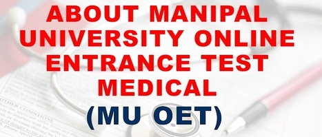Manipal University Online Entrance Test   Education and Scholarship   Scoop.it