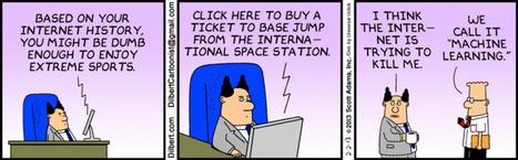 Machine Learning - Dilbert 02/02/2013 | fun for geeks | Scoop.it