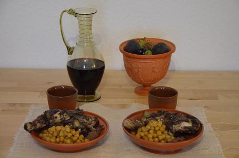 A taste of Ancient Rome - Pullum Particum (Parthian Chicken) and Parthian Chickpeas | Roma Antiqua | Scoop.it