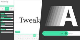 Prototypo - Créer des typographies sur-mesure en toute simplicité | Toute l'actualité du webdesign | Scoop.it