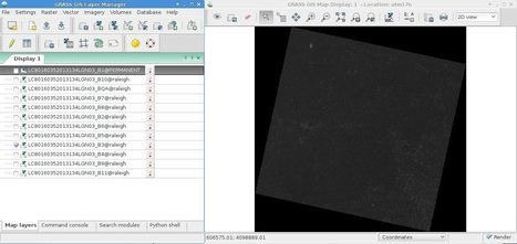 Processing Landsat 8 data in GRASS GIS 7 - GRASS GIS Courses | Remote Sensing News | Scoop.it