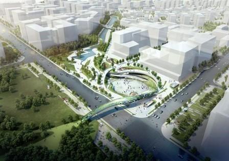 Magok Central Plaza Winning Proposal / Wooridongin Architects   Architecture & Gardens   Scoop.it