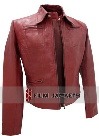 Once Upon A Time Jacket | Red Leather Emma Swan Jacket | House of outfits | Scoop.it
