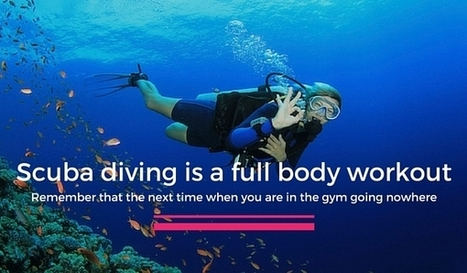 6 Reasons Why Scuba Divers Are Fitter Than You are | Bookyourdive | Scoop.it