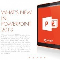 What's New in PowerPoint 2013 | Visual.ly | 21st Century Concepts-Technology in the Classroom | Scoop.it