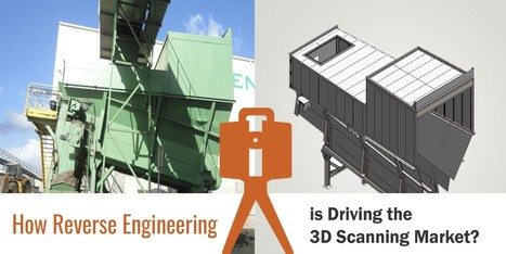 How Reverse Engineering is Driving the 3D Scanning Market? | Hi-Tech Outsourcing Services | Scoop.it