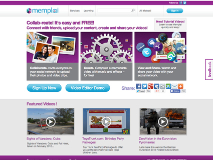 Memplai, un excellent éditeur vidéo en ligne et gratuit | Autour du Web | Au fil du Web | Scoop.it