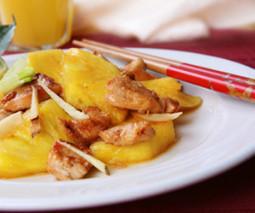 Ananaslı Tavuk Tarifi | zeytinyaglitarifler | Scoop.it
