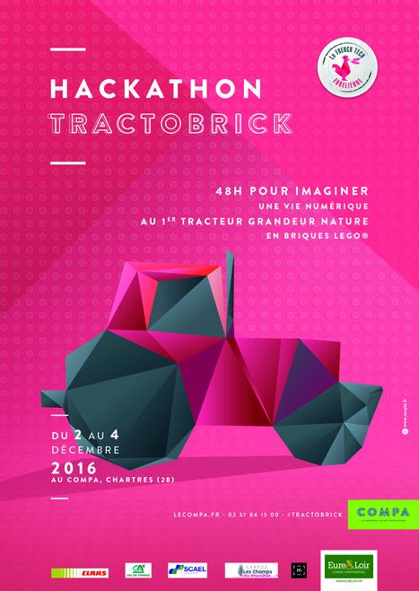 Un week-end pour imaginer, rêver, inventer une vie numérique à TractoBrick 4.0 ! Hackathon #TractoBrick | TRADCONSULTING 4 YOU | Scoop.it