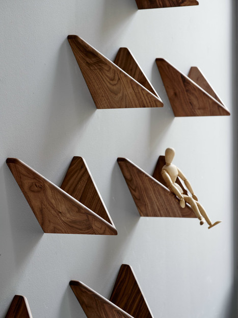 The Classic Cadovius Butterfly Shelf Makes A Comeback In 2015 | Designing Interiors | Scoop.it