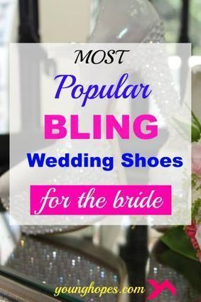 Popular Bling Wedding Shoes for Brides • | Weddings | Scoop.it
