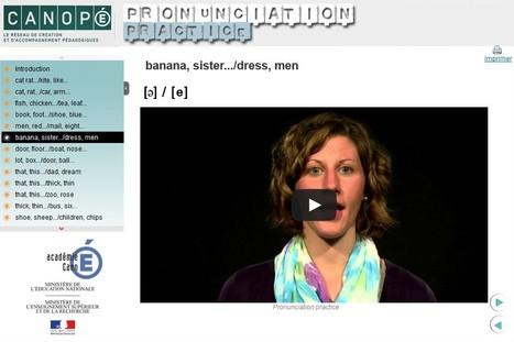 Module d'auto-formation : prononciation de certains sons de la langue anglaise. | TICE, Web 2.0, logiciels libres | Scoop.it