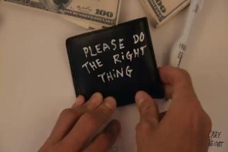 Filmmaker Develops Simple Way To Retrieve Lost Stuff - PSFK | Personas 2.0: #SocialMedia #Strategist | Scoop.it
