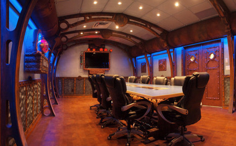 10 Most Creatively Themed Office Meeting Rooms | This is Insane | Scoop.it