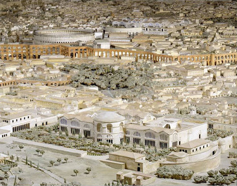 The Museum of Roman Civilization Has Created A Model Of Ancient Rome In The Age Of Emperor Constantine. And It Is Magnificent… | LVDVS CHIRONIS 3.0 | Scoop.it
