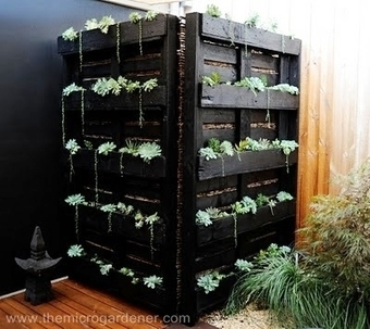 20 idées de recyclage de palettes dans votre jardin ! | Palettes | Scoop.it
