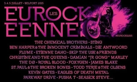 Les premiers noms des Eurockéennes 2015 | Sourdoreille | News musique | Scoop.it