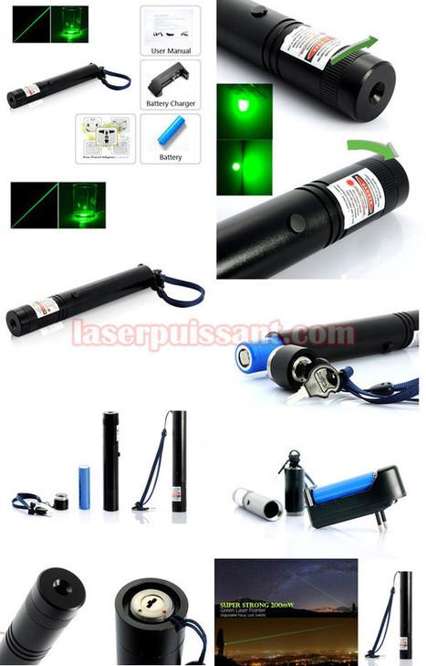 200mw pointeur laser vert puissant bon marché chez laserpuissant.com | pointeur laser | Scoop.it