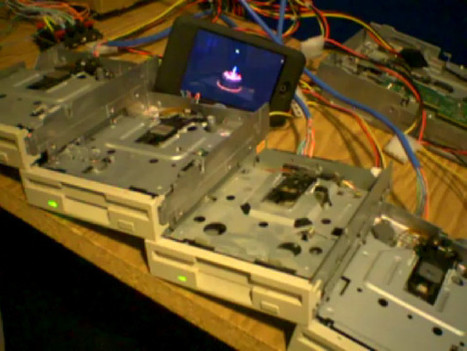 Portal's 'Still Alive' Performed On Old Floppy Drives   Geekologie - Gadgets, Gizmos, and Awesome   geekette   Scoop.it
