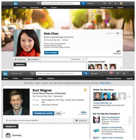 Les nouveaux profils Linkedin | Médias et réseaux sociaux | Scoop.it
