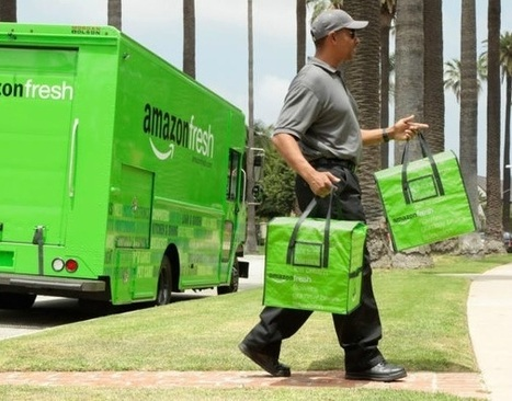 Amazon Fresh ; l'expertise de la livraison appliquée aux produits frais | digital mentalist  and cool innovations | Scoop.it
