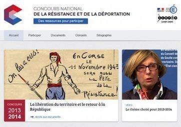 Le portail du Concours National de la Résistance et de la Déportation (CNRD) - Educavox | CNRD 2014 Bartholdi | Scoop.it