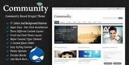 Community - Themeforest Premium Drupal Theme | Theme Mart | Scoop.it
