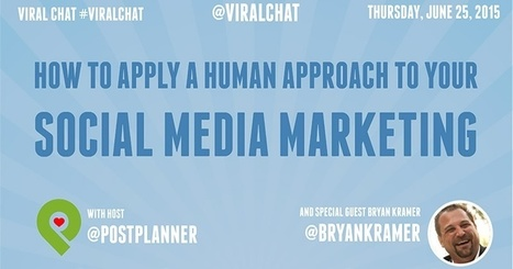 How to Apply a Human Approach to Your Social Media Marketing | Social Media, Marketing, Design ... | Scoop.it