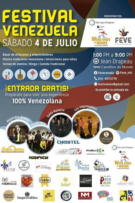 Festival Venezuela - Por primera vez en Montreal - Entrevista a Bertha Hamana | Venezuela | Scoop.it