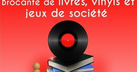 Escapages: Brocante de livres, vinyls et jeux de société avec la Bibliothèque publique locale de Nivelles | Escapages | Scoop.it