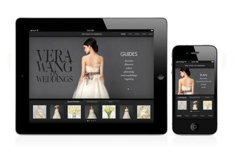 Vera Wang on Weddings, il wedding planner su iPhone ... | Go Wedding | Scoop.it