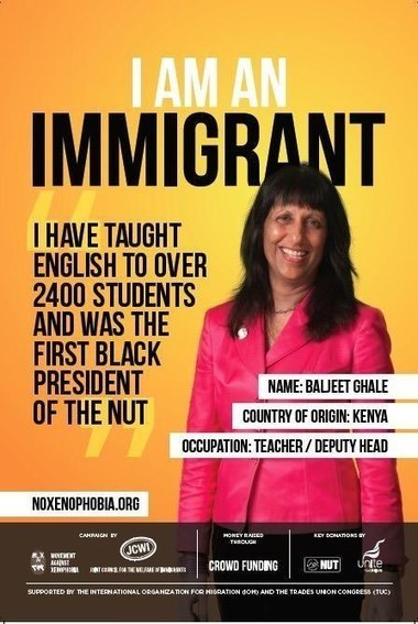 These Posters Celebrating Immigrants Are Appearing All Over The UK | Teaching websites | Scoop.it
