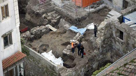 Vigo: Las tumbas romanas recién halladas el pazo de los marqueses de Valladares tienen continuidad en la concatedral | LVDVS CHIRONIS 3.0 | Scoop.it