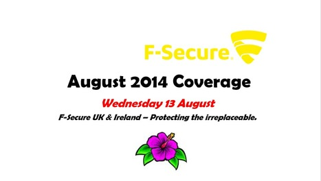August 2014 (13th) | F-Secure Coverage (UK) | Scoop.it