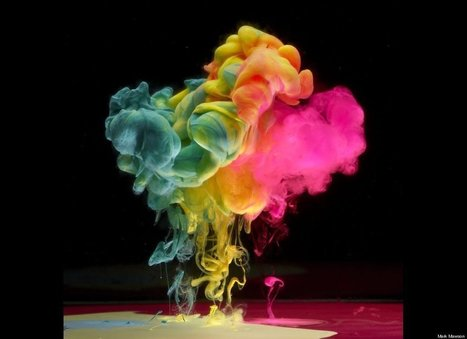 Mark Mawson, Photographer, Creates Incredible Floating Water Color Images (PHOTOS) | Strange and Unusual | Scoop.it
